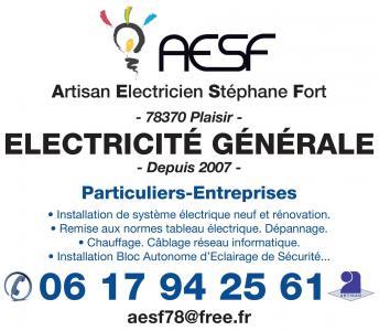 Artisan electricien stephane fort - Entreprise d'électricité générale - Plaisir