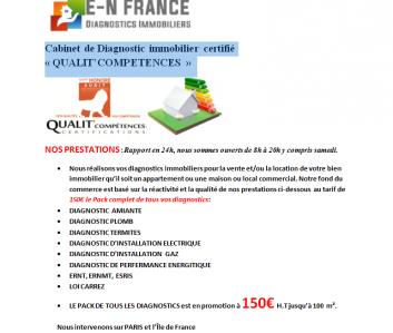 E-n France - Diagnostic immobilier - Paris