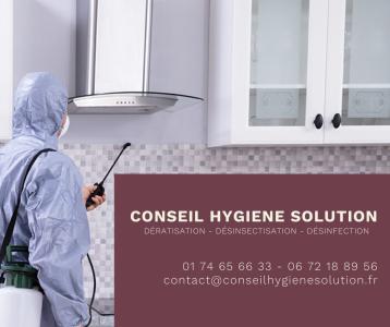 Conseil Hygiène Solution - Dératisation, Désinsectisation, Désinfection, Traitement Du Bois - Traitement anti-nuisibles - Paris