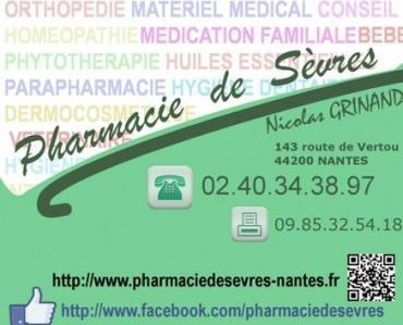 Pharmacie De Sèvres - Pharmacie - Nantes