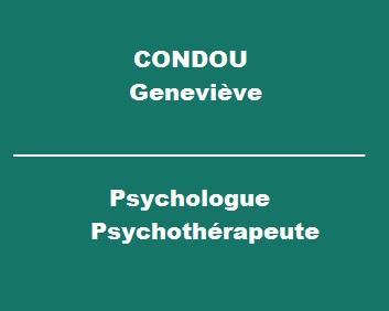 Mme Condou Geneviève - Psychologue - Montauban