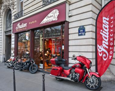 Indian Paris Etoile - Agent concessionnaire motos et scooters - Paris
