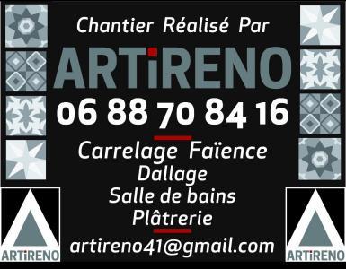Sas Artireno - Vente et pose de revêtements de sols et murs - Blois