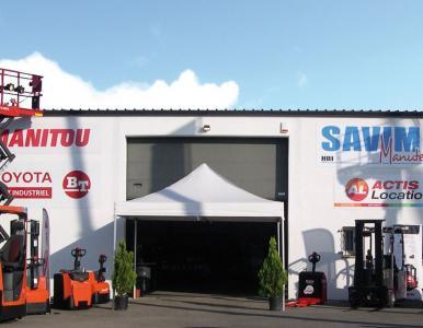 Savim Manutention - Location de matériel pour entrepreneurs - Carcassonne