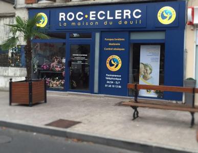 Roc-Eclerc - Pompes funèbres - Palaiseau