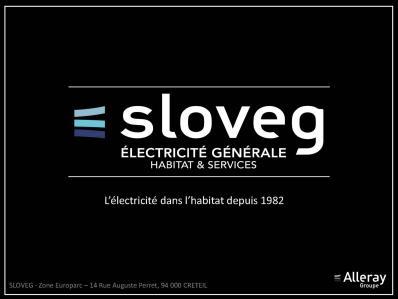 Sloveg - Entreprise d'électricité générale - Créteil