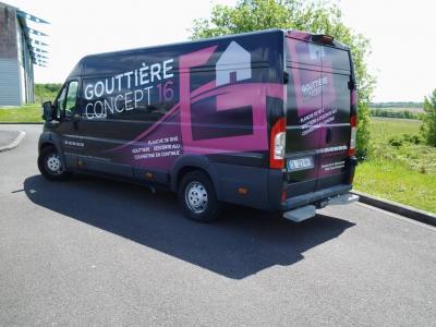 Gouttiere Concept 16 - Entreprise de couverture - Soyaux