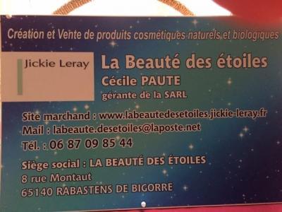 La Beauté Des Etoiles - Fabrication de parfums et cosmétiques - Lourdes