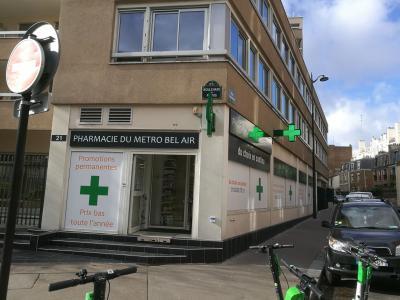 Pharmacie du Métro Bel Air - Pharmacie - Paris