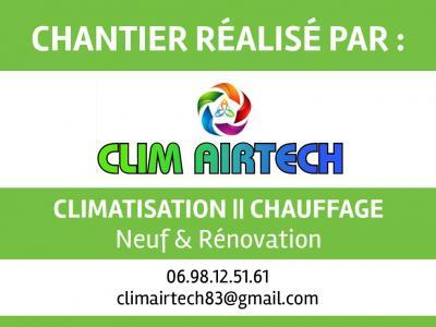 Clim Airtech - Vente et installation de climatisation - Sainte-Maxime