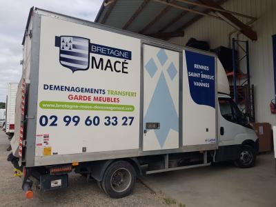 Bretagne Macé Déménagements - Entreprise de manutention et levage - Rennes