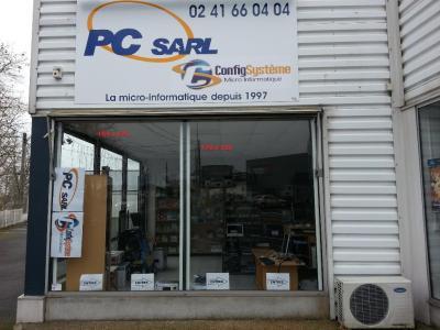 Config Système Pc Sarl - Vente de matériel et consommables informatiques - Angers