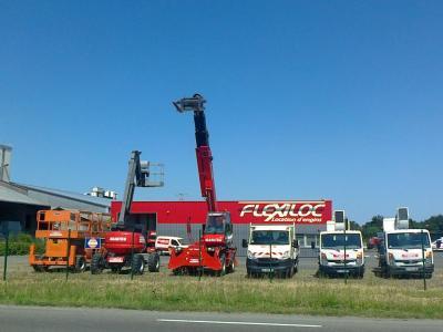 V2v Flexiloc - Location de matériel pour entrepreneurs - Aire-sur-l'Adour