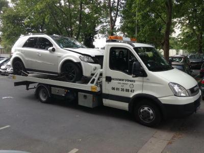 Enlèvement Epave Rapide - Casse automobile et pièces détachées - Paris