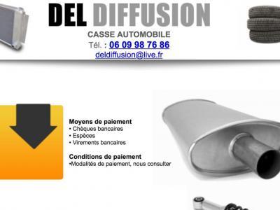 Del Diffusion - Casse automobile et pièces détachées - Hyères
