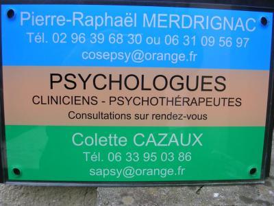 Cazaux Colette - Psychologue - Dinan