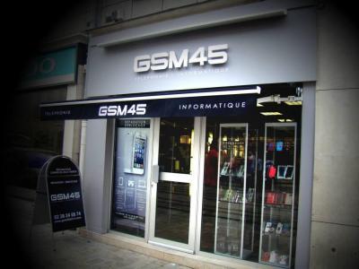 Gsm 45 - Dépannage informatique - Orléans