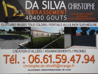Da Silva Christophe - Entreprise de terrassement - Gouts