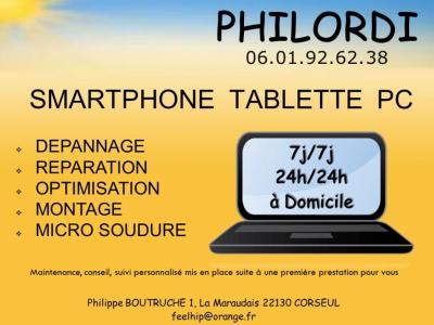 Philordi - Dépannage informatique - Corseul