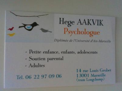 Aakvik Hege - Psychologue - Marseille