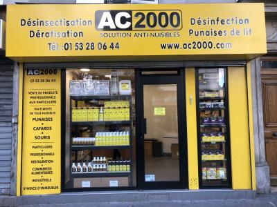 Ac 2000 - Dératisation, désinsectisation et désinfection - Paris