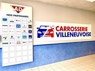 Carrosserie Villeneuvoise - Carrosserie et peinture automobile - Villeneuve-sur-Lot