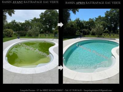 Limpide Piscines - Construction et entretien de piscines - Châteaugiron