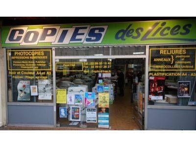 Copies Des Lices SARL - Imprimerie et travaux graphiques - Rennes