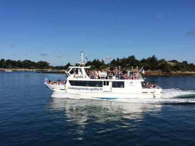 Compagnie Du Golfe - Transport maritime et fluvial - Vannes