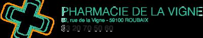 Pharmacie De La Vigne - Pharmacie - Roubaix