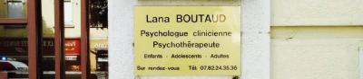 Boutaud Lana - Psychologue - Lyon
