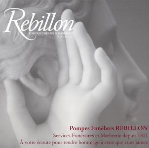 Rebillon - Pompes funèbres - Paris
