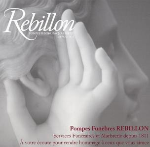 Rebillon - Pompes funèbres - Neuilly-sur-Seine