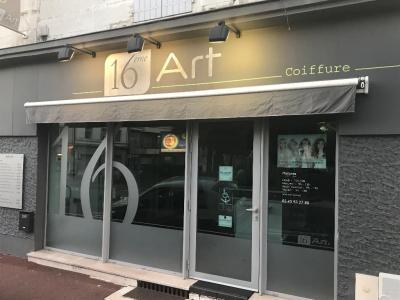 16EME Art - Coiffeur - Angoulême