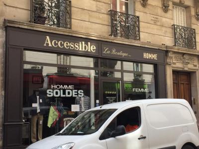 Accessible - Vêtements homme - Paris