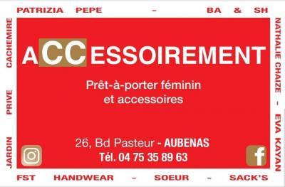 Accessoirement - Vêtements femme - Aubenas