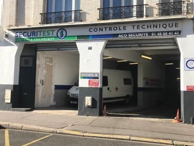 Aco Sécurité - Contrôle technique de véhicules - Vincennes