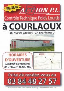 Action Poids Lourds - Contrôle technique de véhicules - Courlaoux