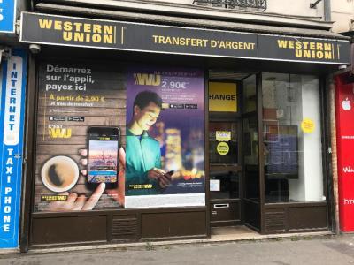 Agence Western Union - Bureau de change - Aubervilliers