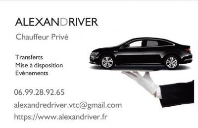 AlexanDriver - Location d'automobiles avec chauffeur - Marseille