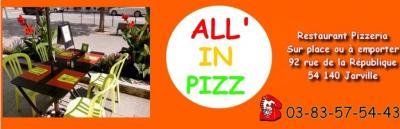 All In Pizz - Restaurant - Jarville-la-Malgrange