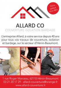 Allard Couverture - Entreprise de couverture - Hénin-Beaumont