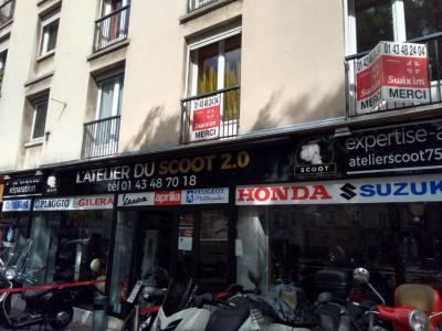 L Atelier Du Scoot 2.0 - Vente et réparation de motos et scooters - Paris