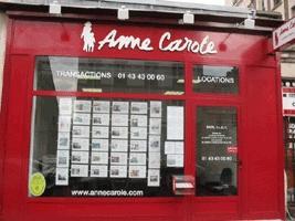 Anne Carole Immobilier CIDY Franchisé Indépendant - Agence immobilière - Paris