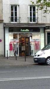 Antonelle - Vêtements femme - Paris
