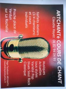 Artchante - Leçon de musique et chant - La Rochelle