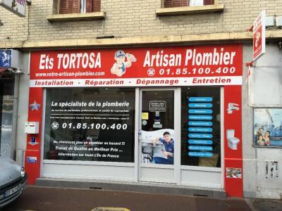 Artisan Plombier - Ets TORTOSA - Plombier - Gagny