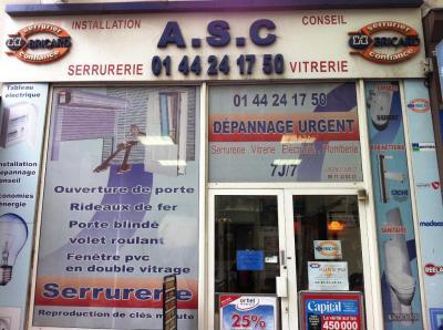 A S C Action Sécurité Conseil - Vitrerie - Paris