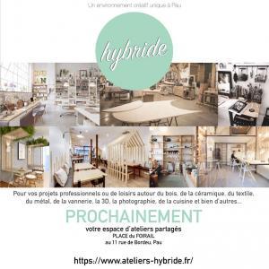 Ateliers Hybride - Loisirs créatifs et travaux manuels - Pau