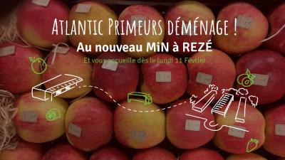 Atlantic Primeurs - Commerce en gros de fruits et légumes - Rezé